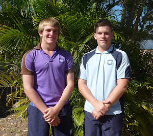 Harrison Phillott and Callum Brown - Junior Gold Rugby Union Program