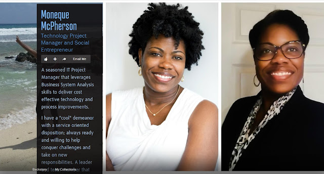 Technology Project Manager and Social Entrepreneur, Moneque McPherson