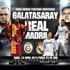 Galatasaray+vs+Real+Madrid Prediksi Skor Galatasaray vs Real Madrid Leg 2 Liga Champions (Rabu, 10 April 2013)
