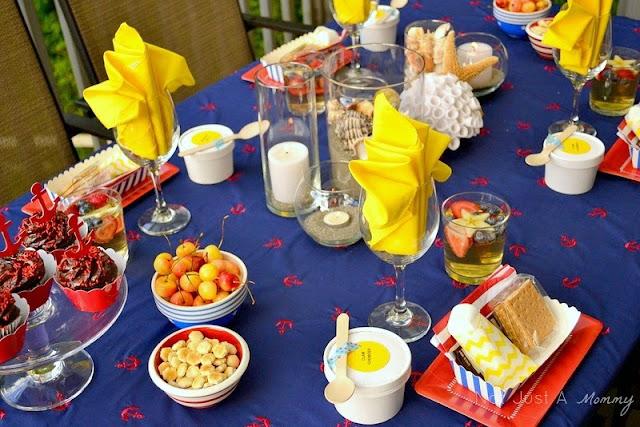 summer fiestas nautical table