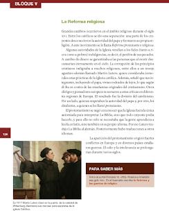 La Reforma religiosa - Historia 6to Bloque 5 2014-2015