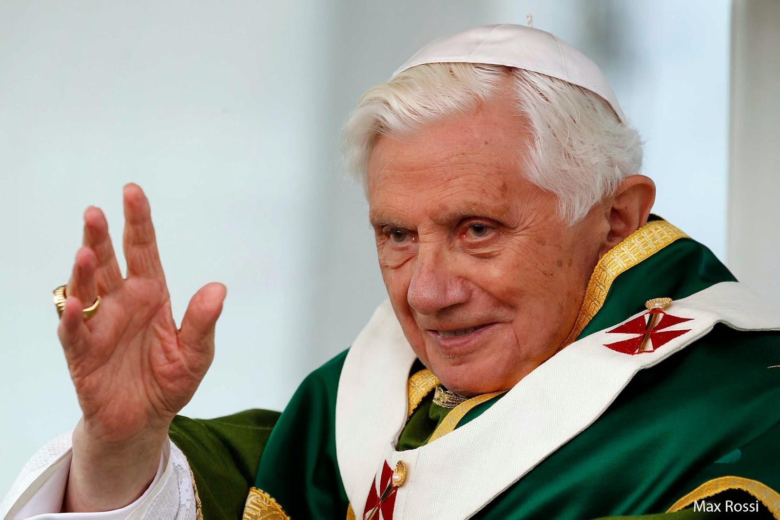 Hoje é aniversário do Papa Emérito Bento XVI!