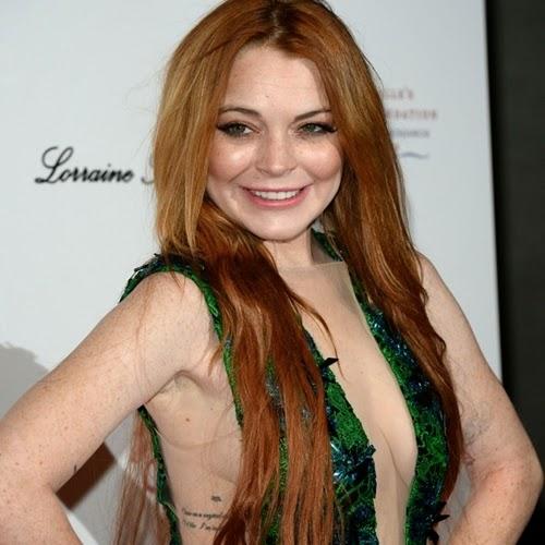 A atriz Lindsay Lohan pode ser presa novamente