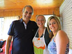 Nossa querida cozinheira Elivana