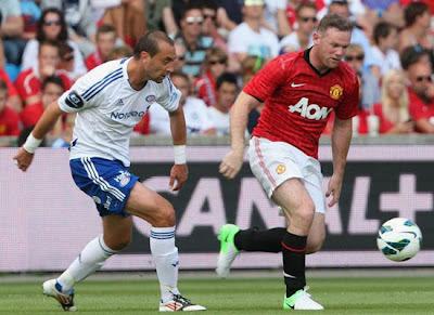 Wayne Rooney Man Utd 2012