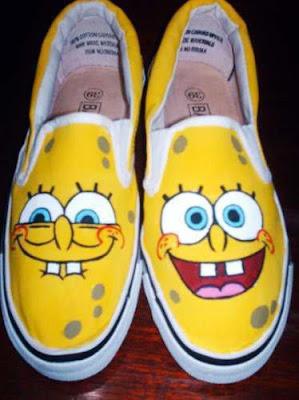Foto de zapatillas de Bob Esponja
