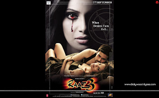 Hot Esha Gupta, Emraan Hashmi, Bipasha Basu Horror Raaz 2 Wallpaper