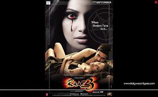 Hot Esha Gupta, Emraan Hashmi, Bipasha Basu Horror Raaz 2 Wallpaper