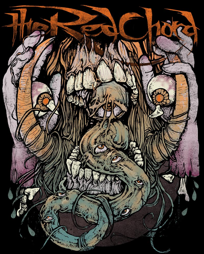 GRINDESIGN/ the art of robert borbas THE RED CHORD DEMORALIZER