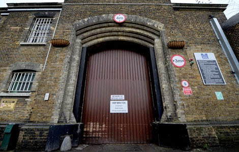 Old main entrance to Brixton Prison. (From Leading Britain's Conversation website)