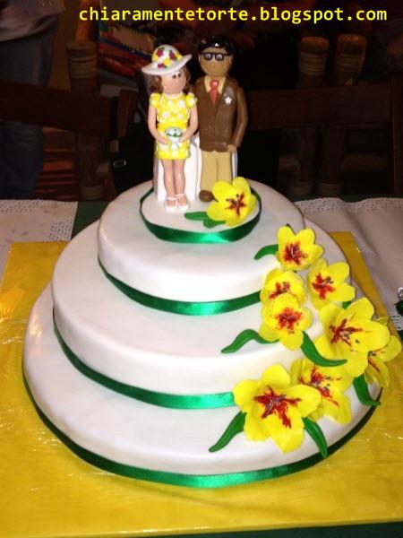 Chiaramente Torte Un Anniversario Color Smeraldo Per 40 Anni Di