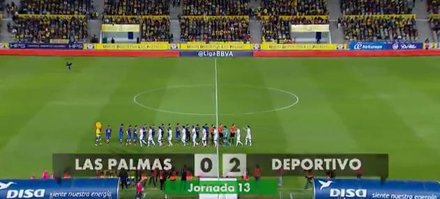 UD Las Palmas 0-2 RCD La Coruña