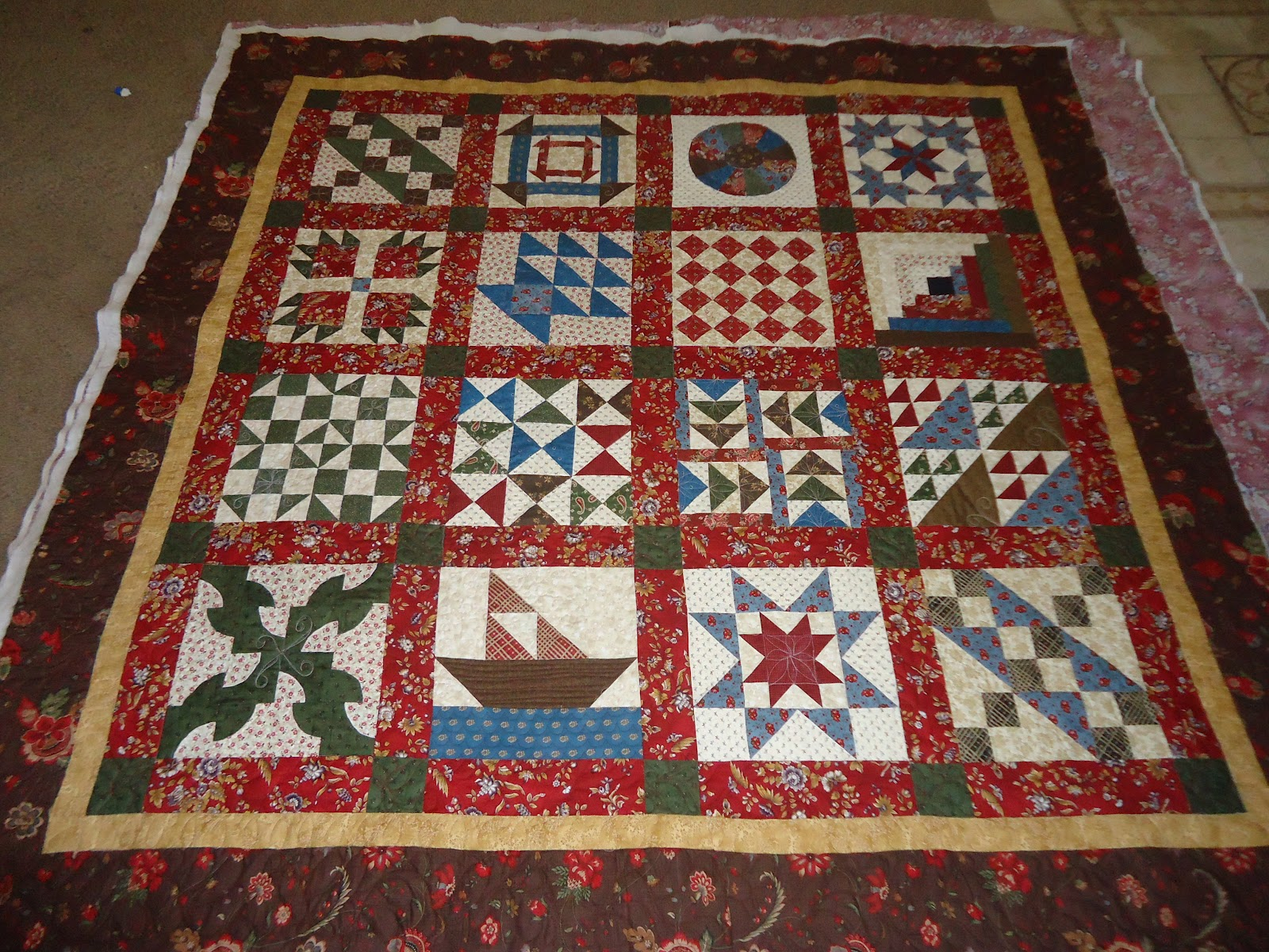 Quilt Patterns Used During The Underground Railroad : Modern Tradition Quilts: The Underground Railroad Quilts