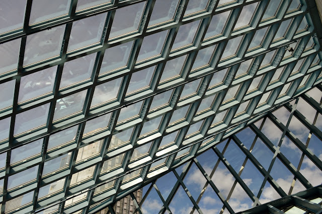 Seattle Public Library - Grid detail
