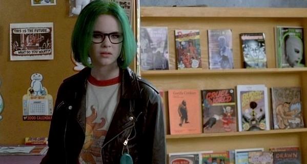 Etiquetas  cine   filosofando   hipsterismo   recomendaci  243 nThora Birch Ghost World Green Hair