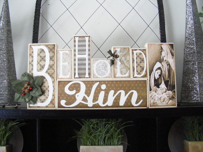 """Behold Him"" Lettering Kits Available Now!"