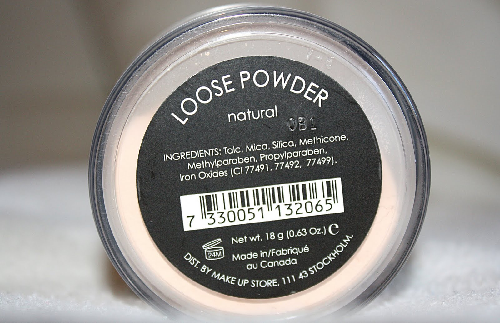 isadora perfect loose powder