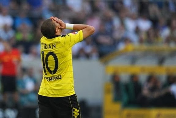 Egyptian striker Mohamed Zidan played for Bundesliga side Dortmund between 2008 and 2011
