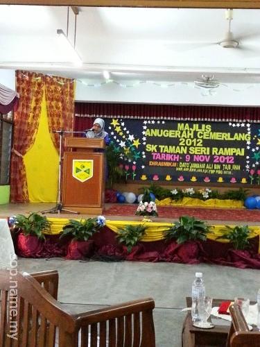 Majlis Anugerah Cemerlang 2012 SK Taman Seri Rampai