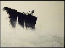 Obra en Subasta Solidaria: Esperando que suba la marea. Autor: Max Delgado Corteguera.