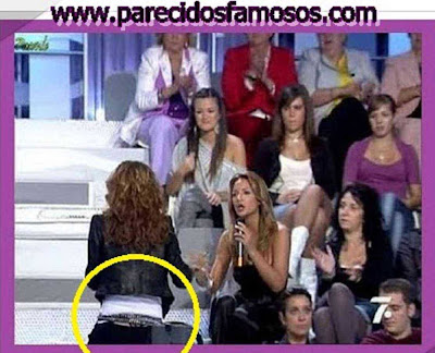 Emma García Descuidos de Famosos