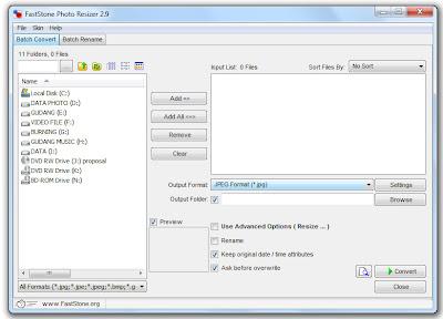 Software - Mengubah Ukuran Gambar Masal