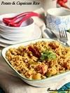 Potato Capsicum Rice