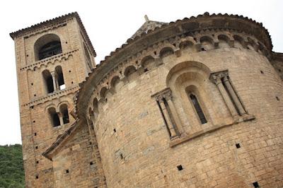 Sant Cristòfol romanesque church in Beget