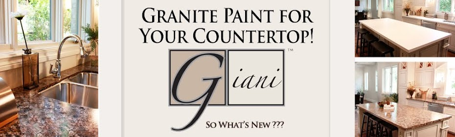 How to Paint your Countertop with Giani Granite Before using GIANI ...