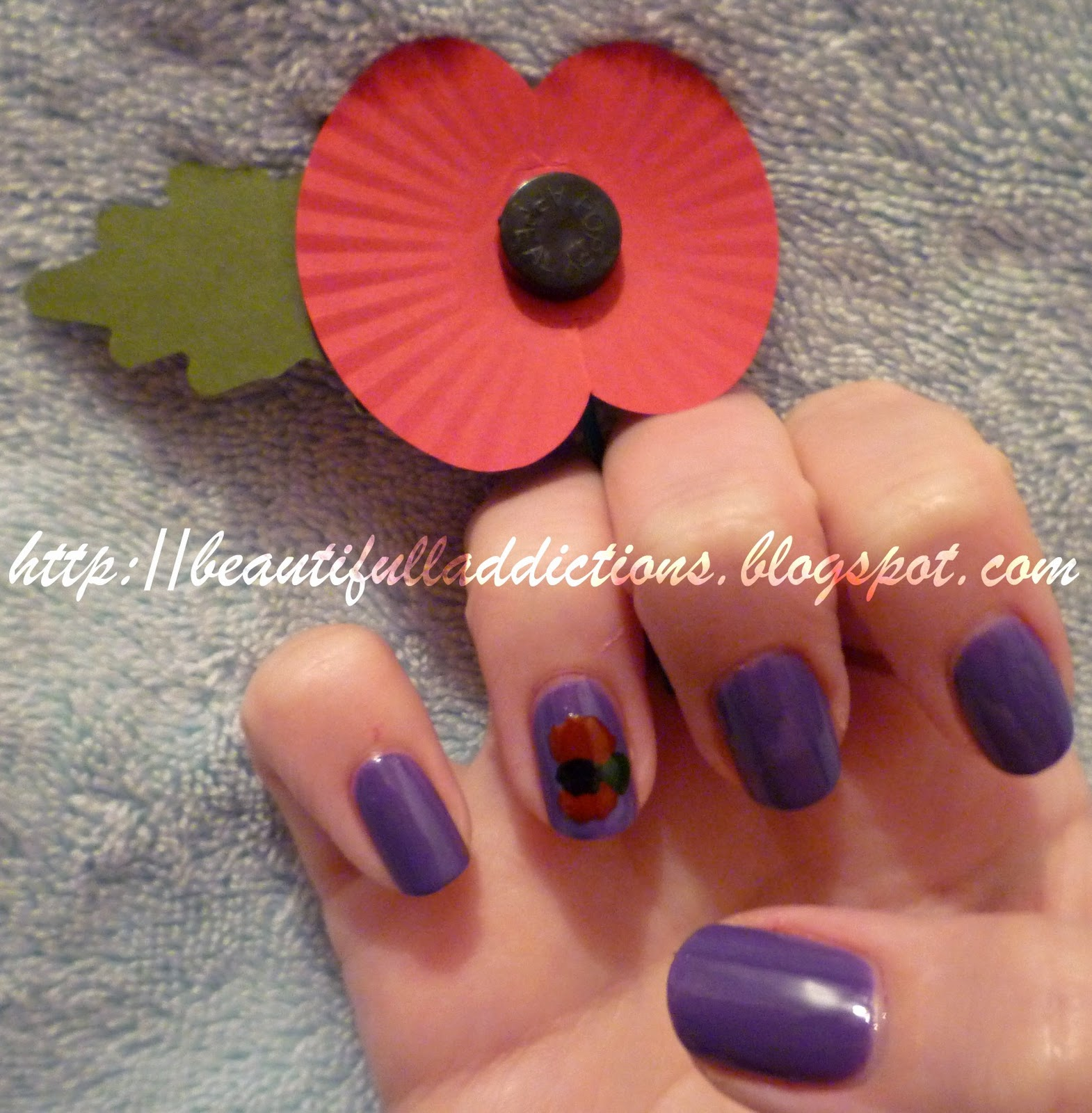 Beautiful Addictions Notd Remembrance Daypoppy Day