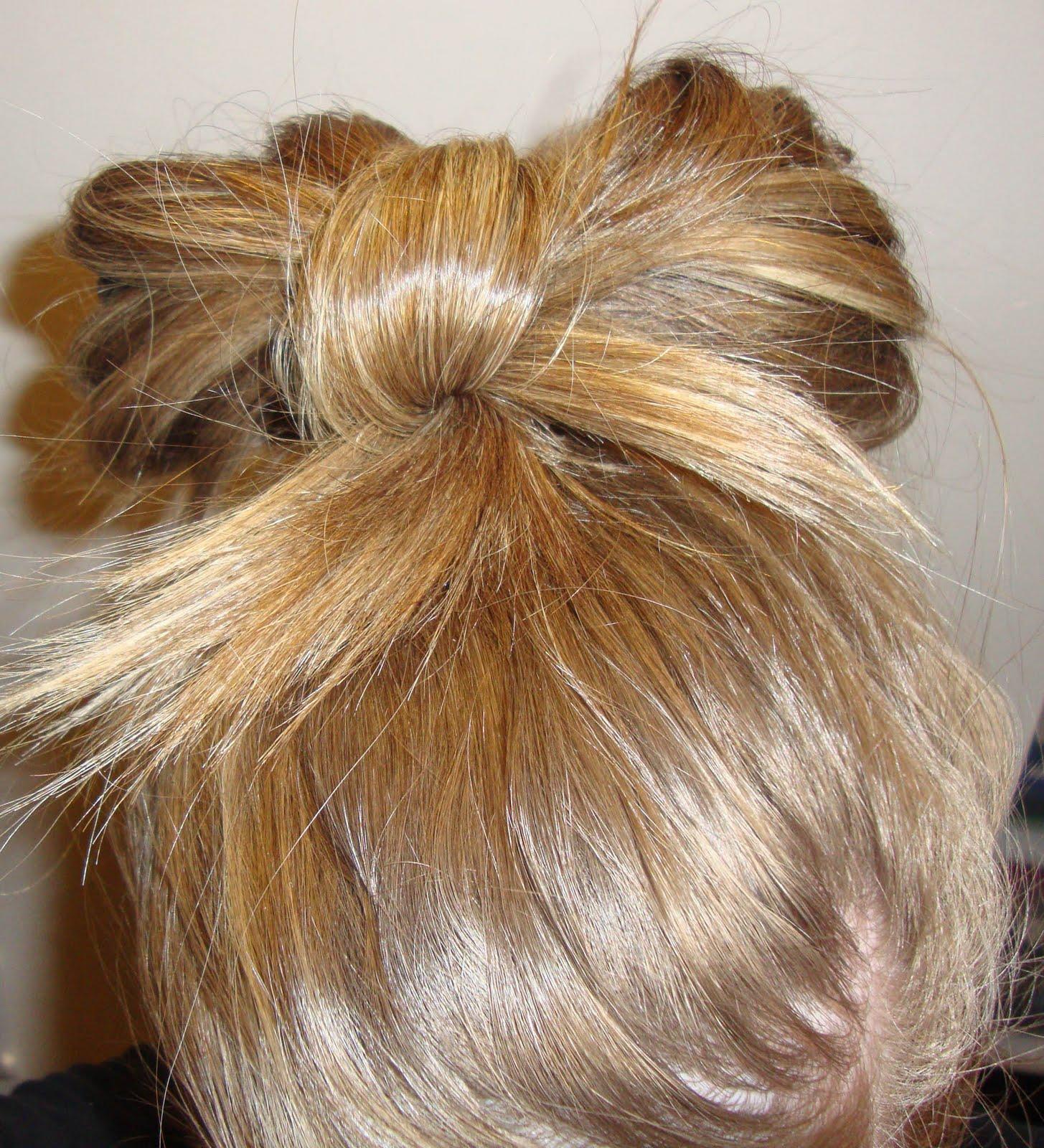 Причёски бантики из волос как делать фото