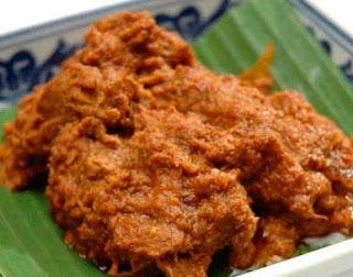 Rendang Sapi Ala Rumah Makan Padang