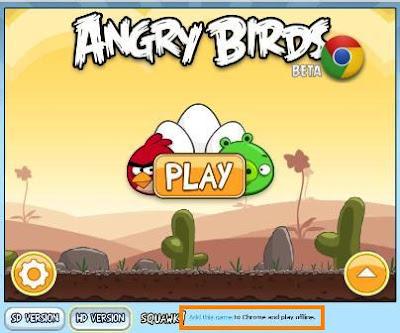 Angry Birds - Google Chrome Free