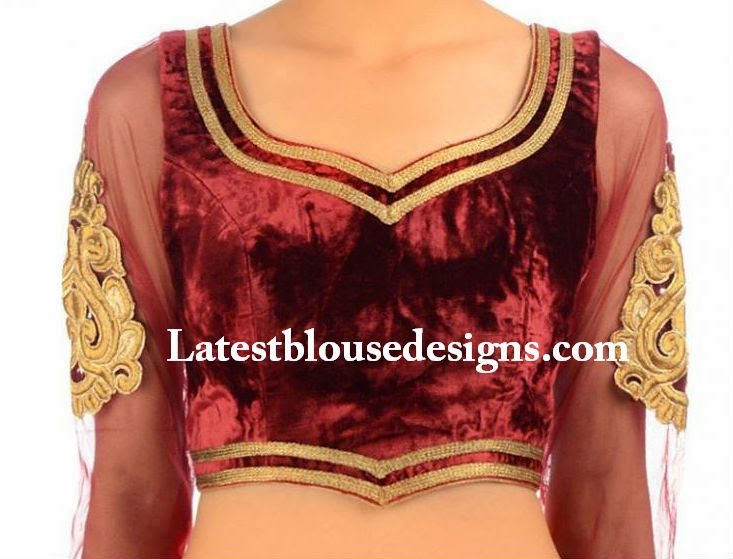 latest indian blouse designs