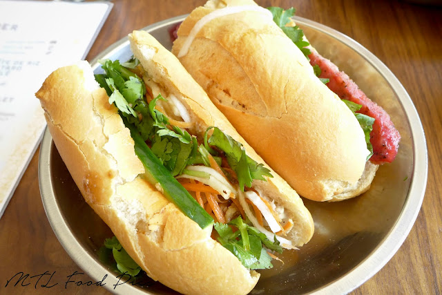 Ginger Onion Chicken Banh Mi - Vietnamese Montreal