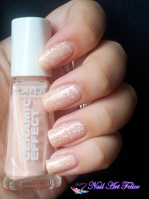 CE101 Bleached Peach - Ceramic Sorbet Effect Layla - Swatch03 - Nail Art Felice