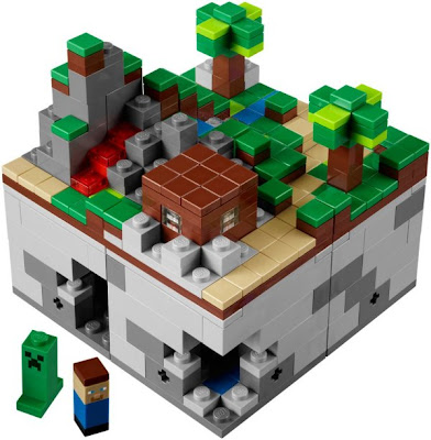 Lego Minifigures; The Minecraft Lego set | (example: Best Theme