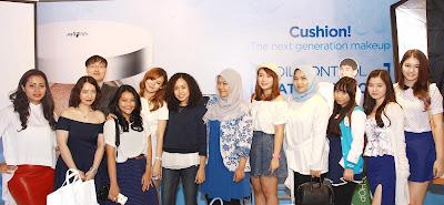 Semua blogger yang hadir pada acara launching produk terbaru The Face Shop
