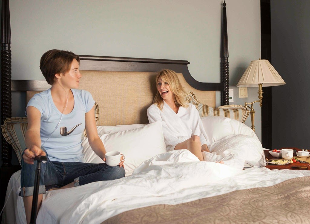 the fault in our stars shailene woodley laura dern