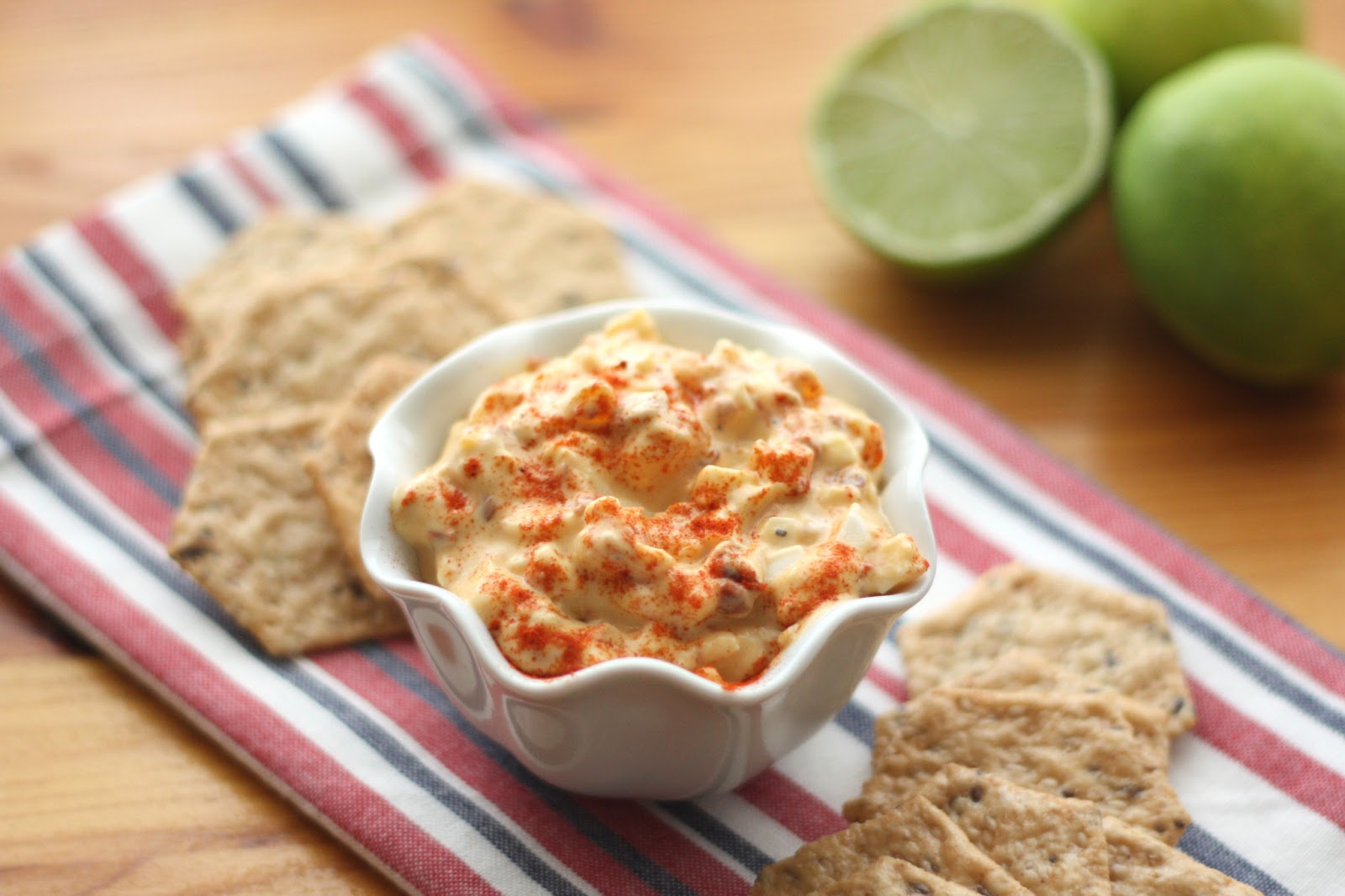 ... In The Kitchen: Chipotle and Lime Egg Salad (a.k.a Deviled Egg Dip