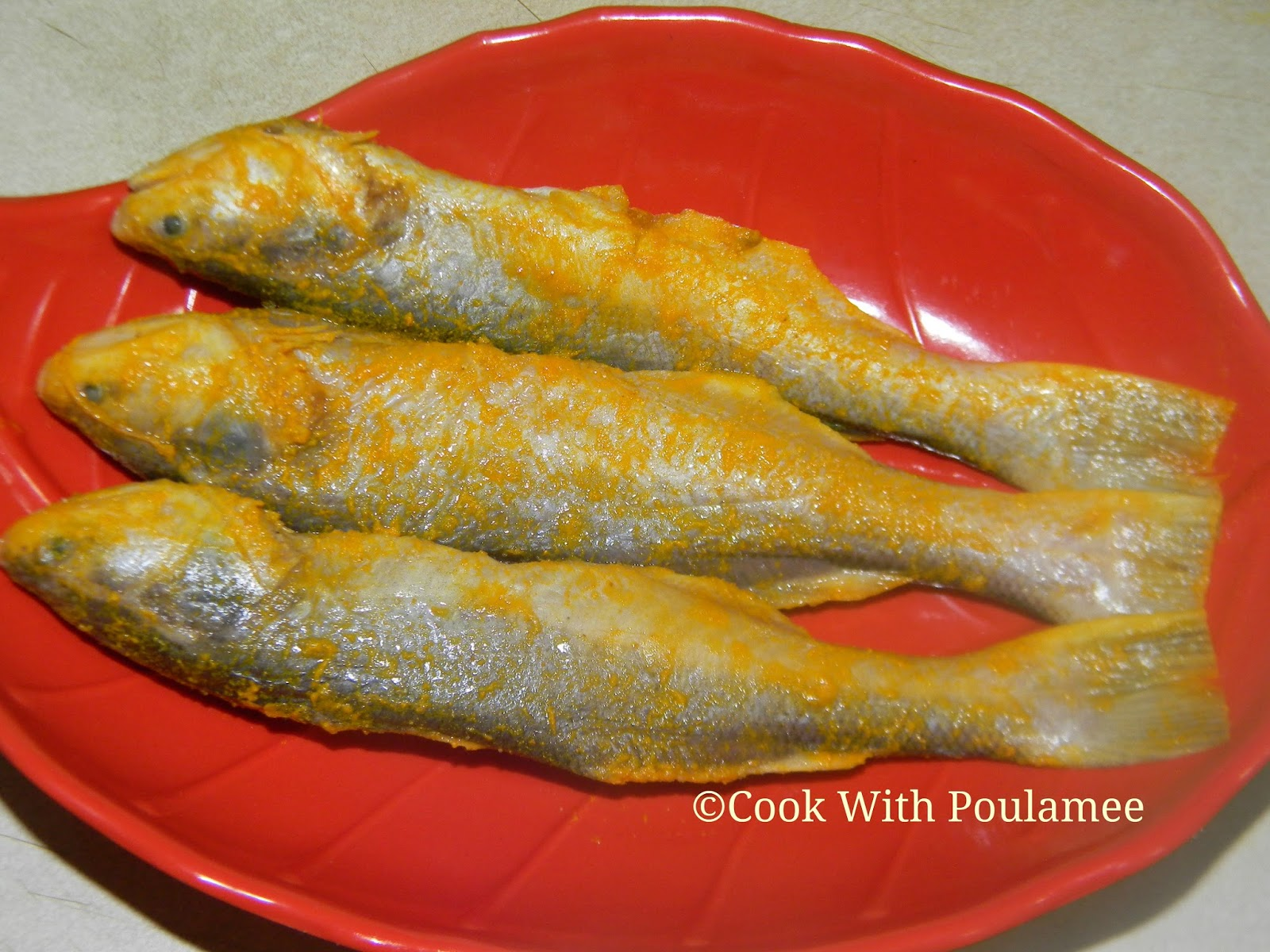 Cook with poulamee topse macher batter fry for How to fry fish with egg and flour