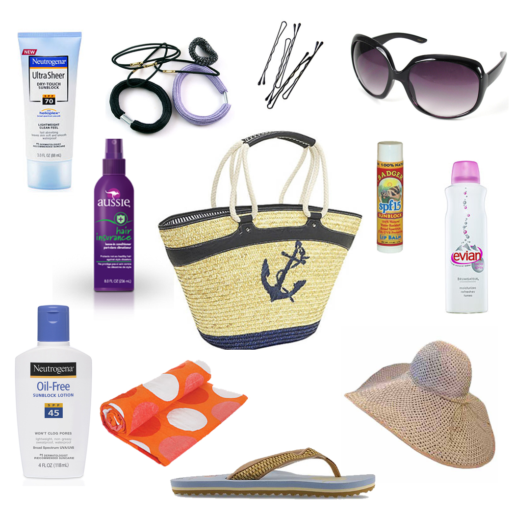 Image result for beach bag essentials