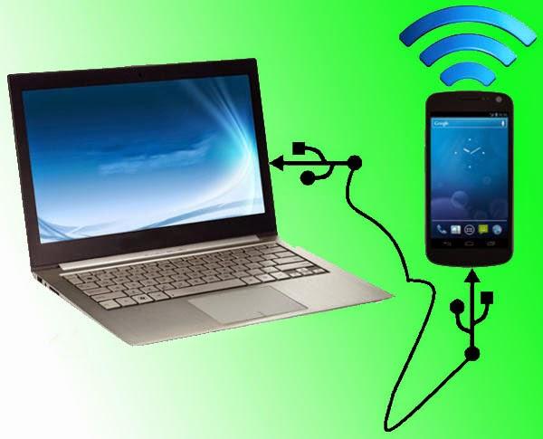 Cara Menjadikan Ponsel Android sebagai Modem di PC