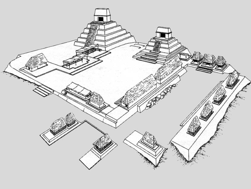 Mayan Buildings And Cities