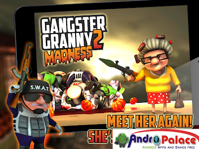 Gangster Granny 2 Madness 1.0 Apk Mod Full Version Data Files Download Unlimited Money-iANDROID Games
