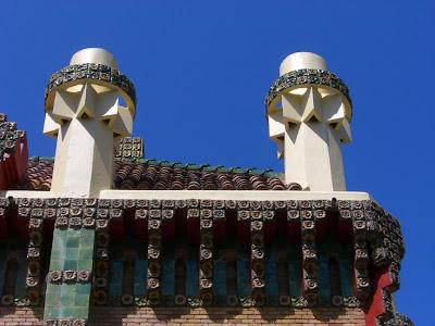 El Capricho de Gaudi in Comillas