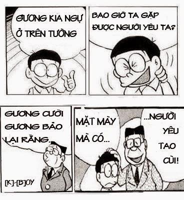 Bài thơ chế tình yêu của Nobita