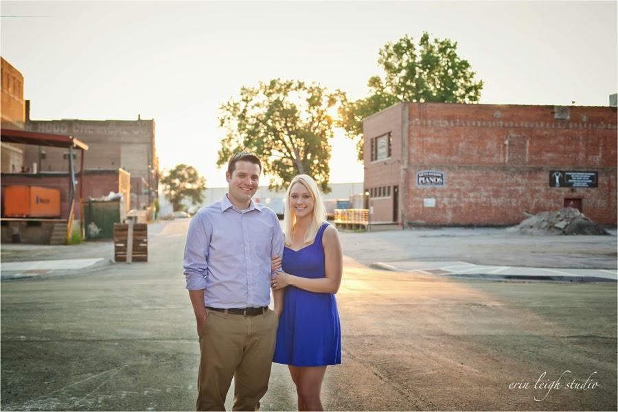 Kansas City West Bottoms Engagement Photos