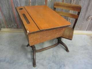The Very First School Desk I Had Wasnu0027t Even A Desk. It Was A Table That I  Shared With Several Other Kids In My Kindergarten Class.