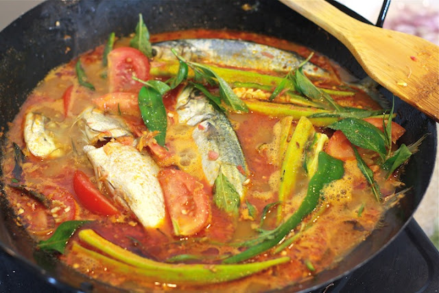 Malay Fish Curry recipe